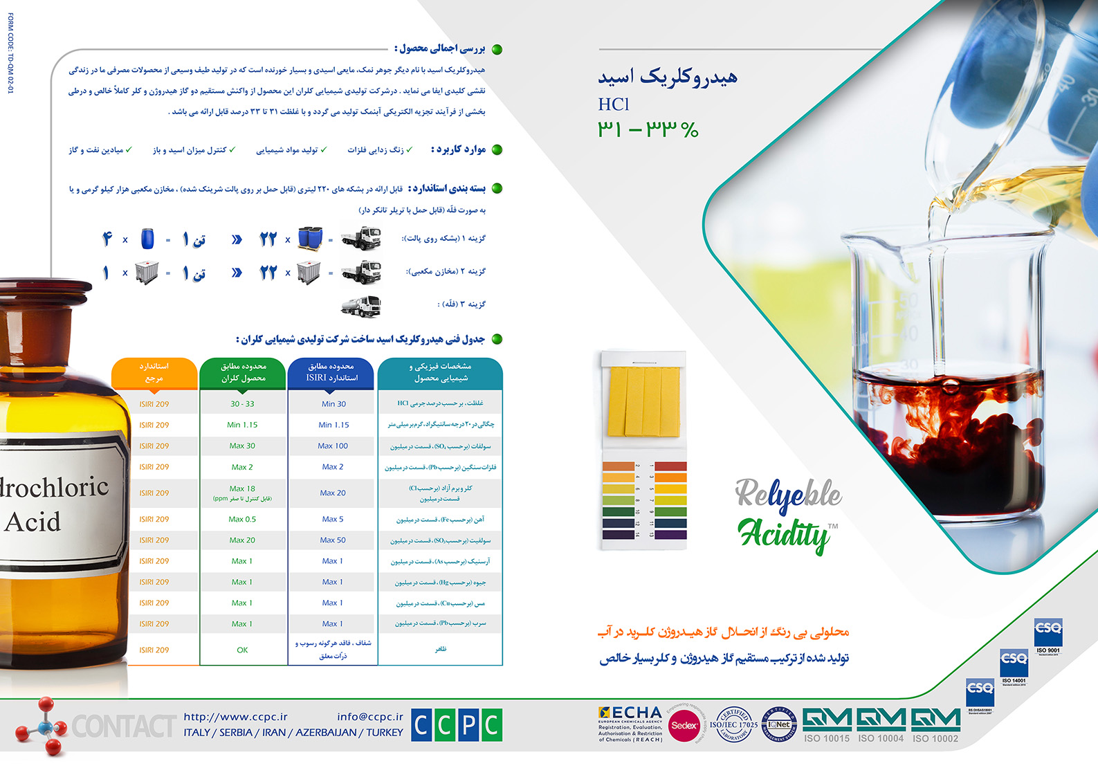 15 Hydrochloric Acid Pages FA
