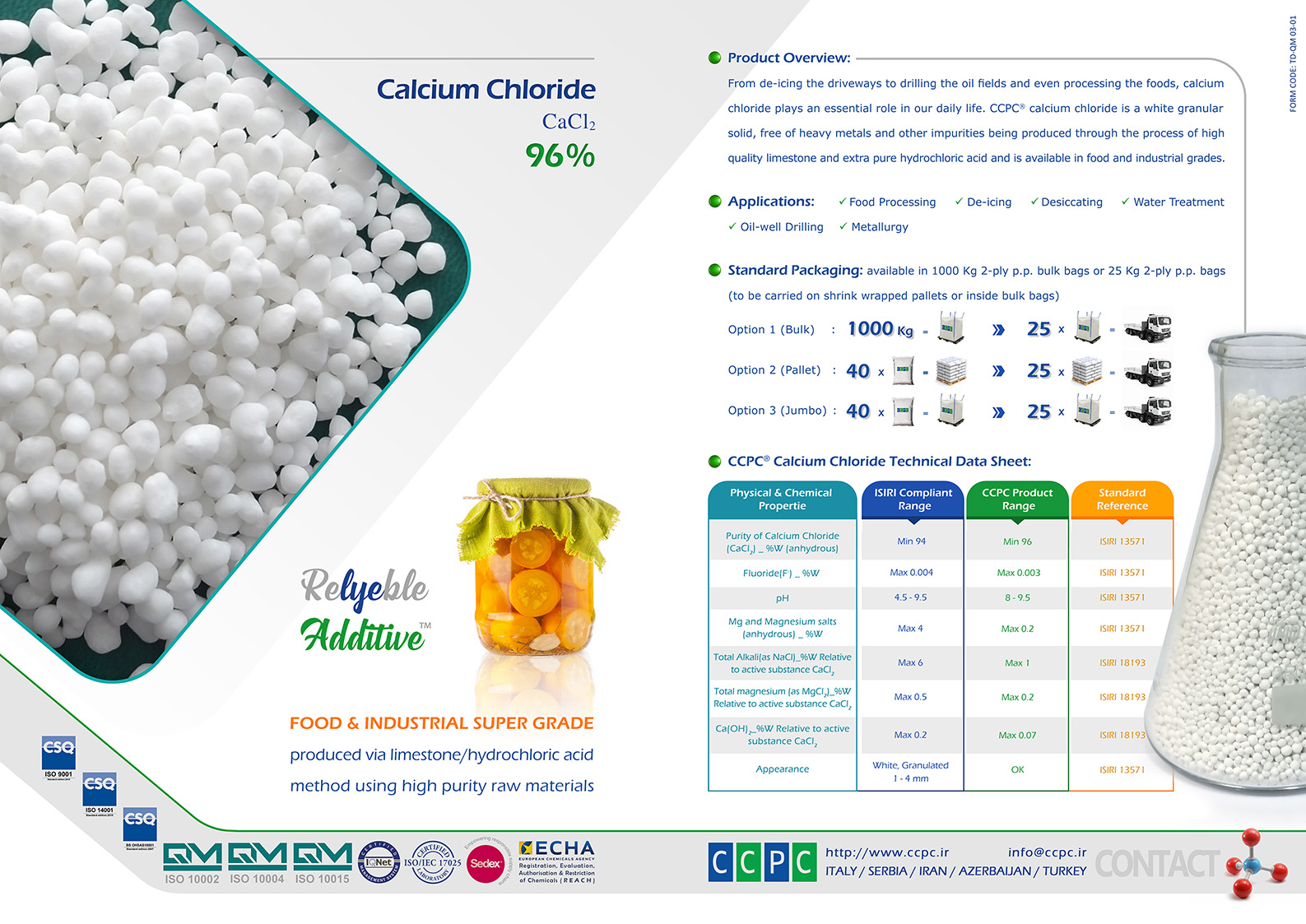 11 Calcium Chloride Pages