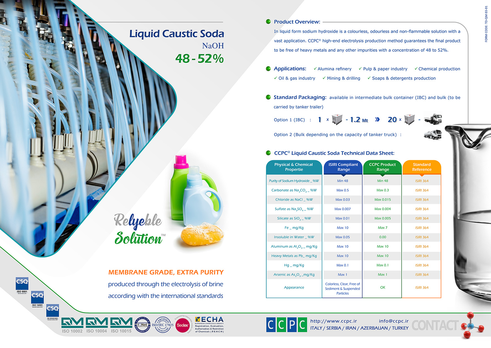 13 Caustic Soda Liquid Pages