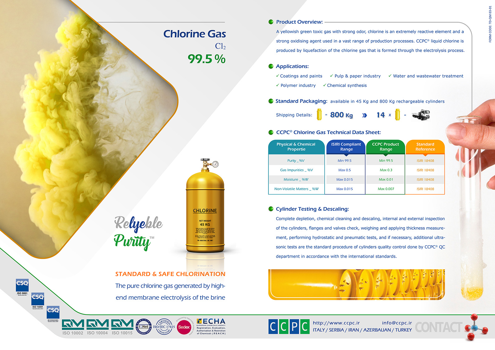 16 Chlorine Gas Pages